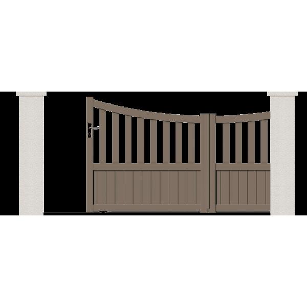 portail coulissant titania portail sur mesure en ligne. Black Bedroom Furniture Sets. Home Design Ideas