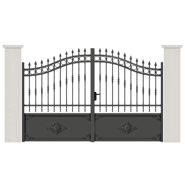 portail battant alpha portail aluminium. Black Bedroom Furniture Sets. Home Design Ideas