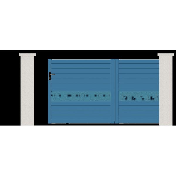 Portail Coulissant Cressida Portail Aluminium Contemporain