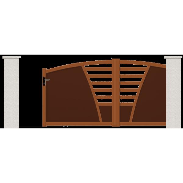 portail coulissant oxygene portail sur mesure en ligne. Black Bedroom Furniture Sets. Home Design Ideas