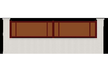 cloture atome cloture aluminium sur mesure. Black Bedroom Furniture Sets. Home Design Ideas