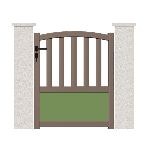 Portillon Steria Portail Et Portillon Sur Mesure